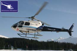 Shared Helicopter Transfers - Helicopter Type - Eurocopter AS350 'Squirrel'