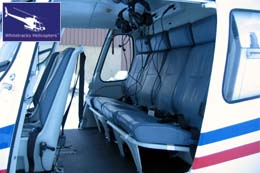 Shared Helicopter Transfers - Helicopter Interior - COMFORT