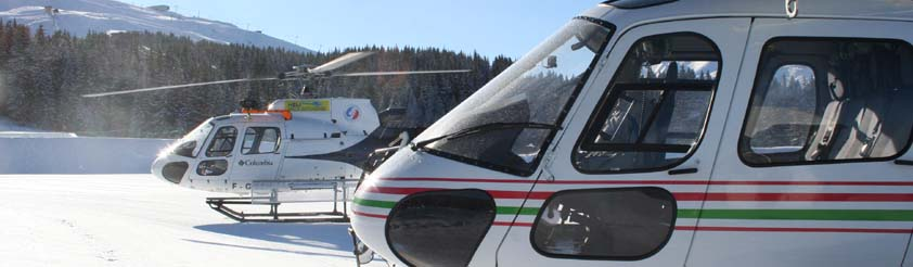 Lenzerheide Helicopters - Helicopter Transfers, Airport Transfers, Sightseeing and Tourist Helicopter Flights and Tours