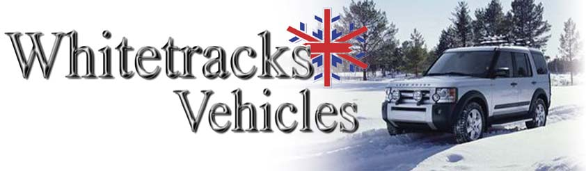 Helicopter Airport Transfer Contingency Plan - Bad Weather Road Transfer - Whitetracks Vehicles - www.whitetracks-vehicles.co.uk